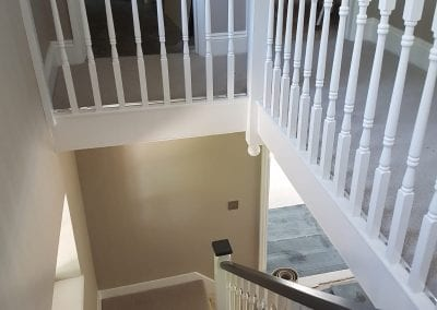 bannister painting buckinghamshire